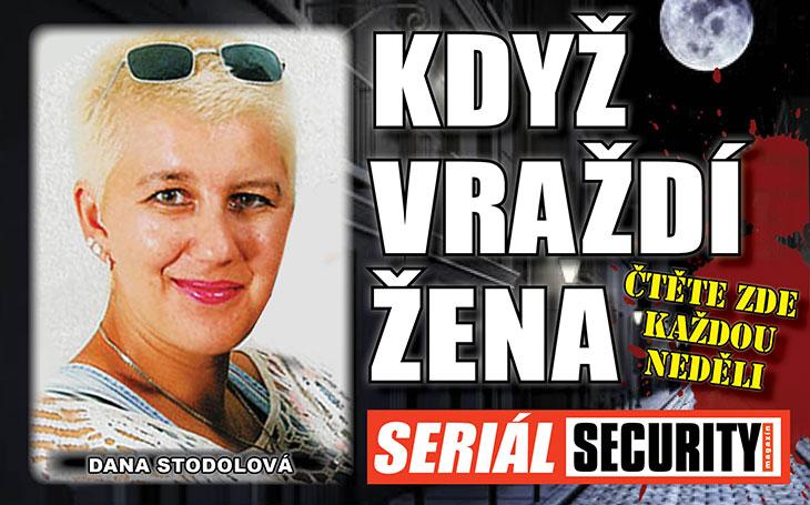 Dana Stodolová: Domina, která udělala z manžela vraždící monstrum a hadího muže. Zabil pro ni sedm důchodců