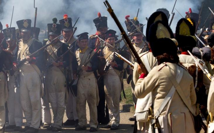 Re-enactment – Napoleonské dny 2018 (1769–1813)