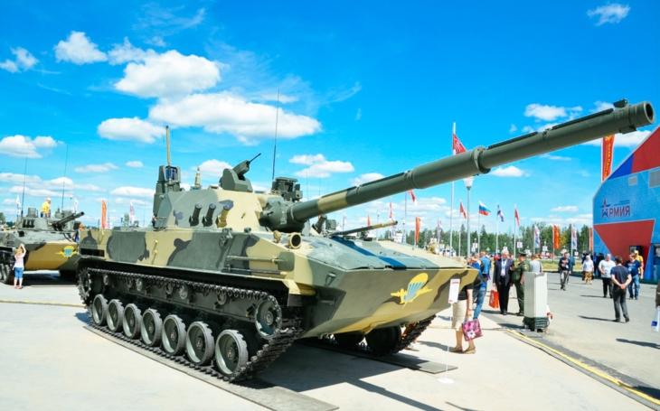 Sprut-SDM1 –  ruský lehký tank vstupuje na mezinárodní trh s vybavením hlavního bitevního tanku