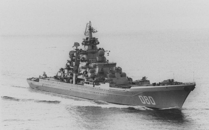 Jaderný křižník Admiral Nachimov – jaderné monstrum se vrátí k ruské flotile po zuby ozbrojené