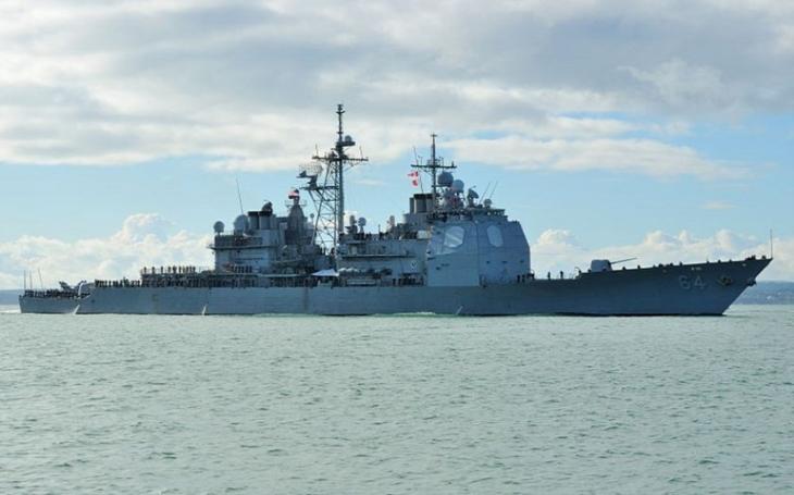 BAE Systems získala kontrakt na modernizaci raketového křižníku USS Gettysburg
