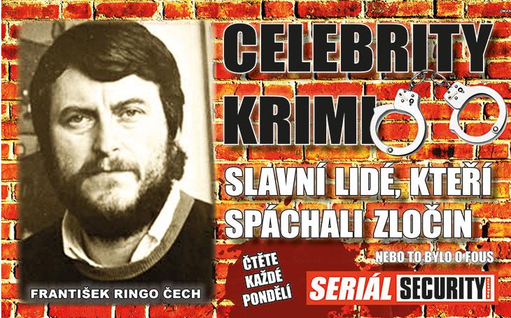 František Ringo Čech: Seděl v Ruzyni za přípravu ozbrojeného převratu jako vedoucí člen podvratné skupiny Tataři. Jeho božstvem byla lidská lebka Erastus