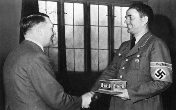 Nacista Albert Speer - ,,jediný Hitlerův přítel&quote;, který zemřel v náručí milenky