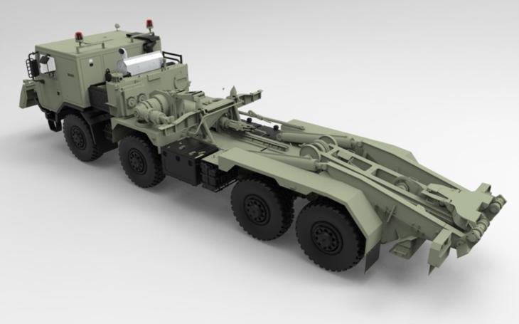 AM-70 EX – ve Šternberku vzniká nové české mostní vozidlo