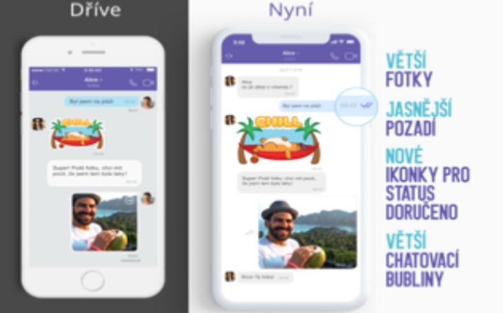 Viber přináší skvělé novinky a rychlejší chatování