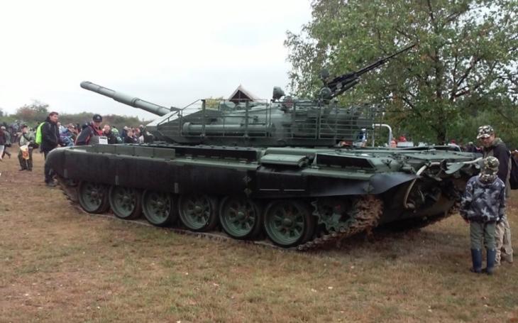 Na letošním Tankovém dnu v Lešanech bylo rušno