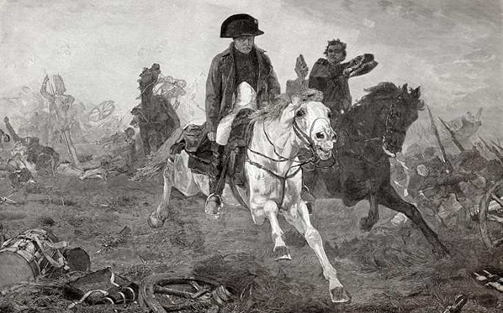 Bitva u Waterloo – opravdu Napoleonovu prohru způsobila sopka?
