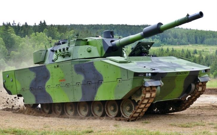 Nejnovější provedení vozidla ASCOD 2 bude k vidění na letošních Dnech NATO