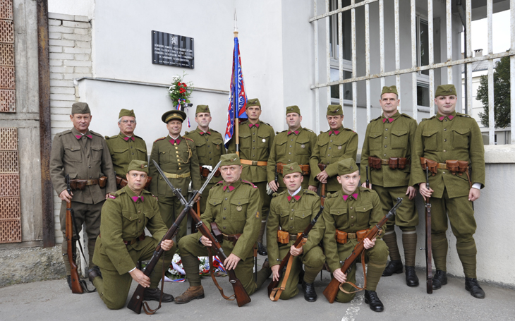 Kluby vojenské historie - 43. pěší pluk čs. armády