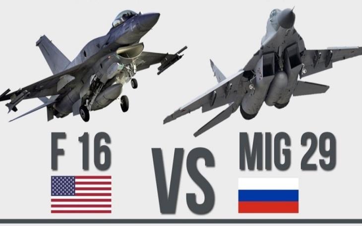 MiG-29 vs. F-16 – který stíhač je lepší?