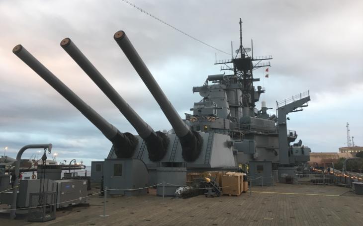 Zkušenosti z války v Koreji měly změnit  bitevní lodě Iowa v jaderná monstra