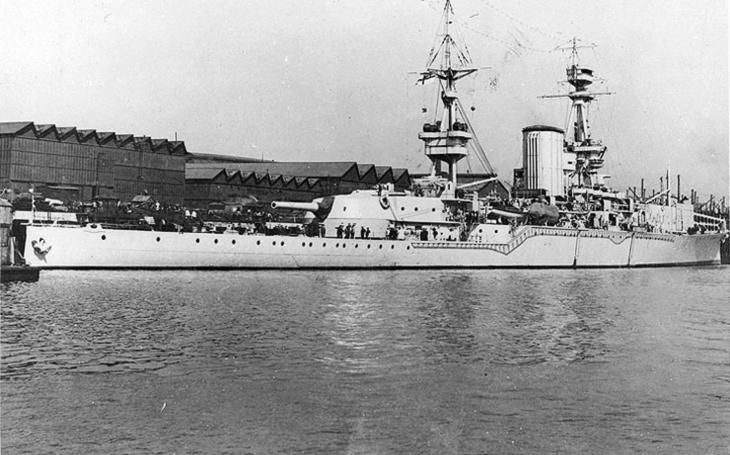 Monstrózní dělo admirála Fishera mělo náboj těžší než granát lodi Yamato