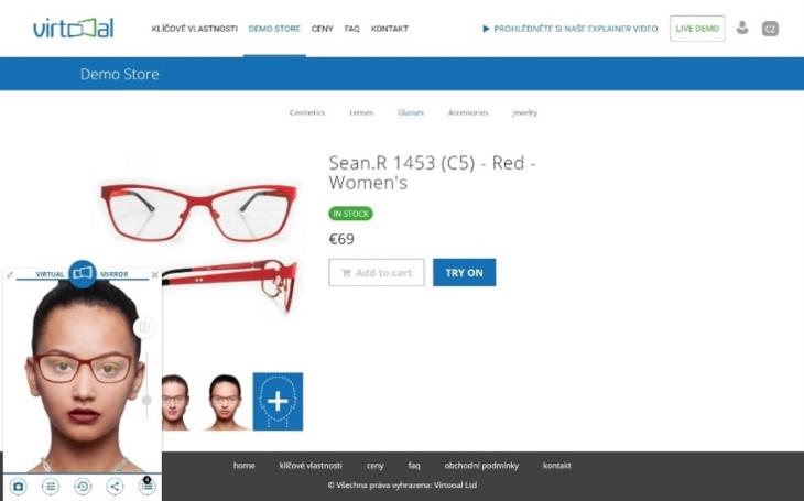 Virtooal.com: Virtuální zrcadla změní způsob nakupování v e-shopech
