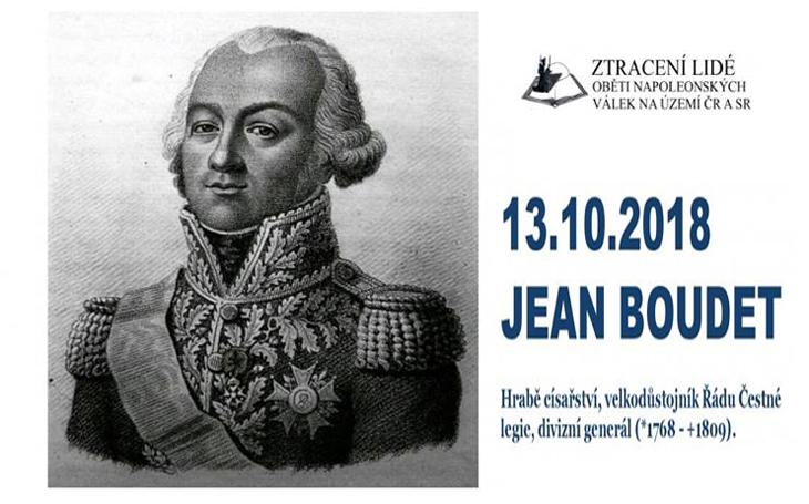 Odhalení pomníku generálu Boudetovi - Moravské Budějovice (1769-1809)