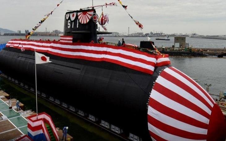 Japonsko spustilo na vodu první ponorku třídy Sórjú poháněnou  Li-Ion akumulátory