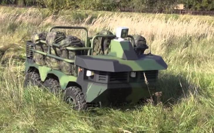 Robotický systém Taros V2 - pomocník pro českou armádu