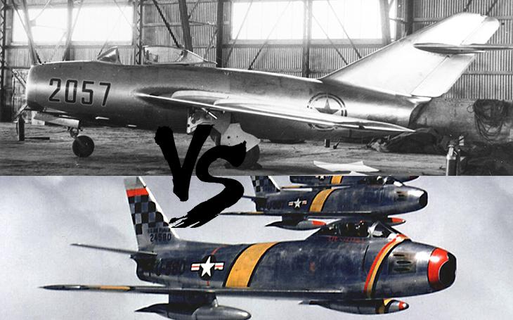 Vzdušné války - F-86 vs. MiG-15. Stroje, které si zabojovaly v horké Korejské válce (1950-1953)