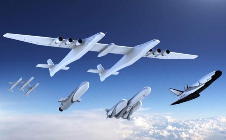 Možné vojenské využití letounu Stratolaunch?