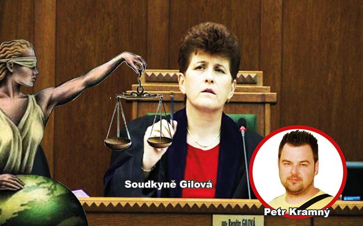 Fraška Kramný: Soudkyně Gilová se poradila sama se sebou a po týdnech tuhých vnitřních bitev rozhodla, že není podjatá. Mnohé však svědčí o opaku. Zde je pět příkladů