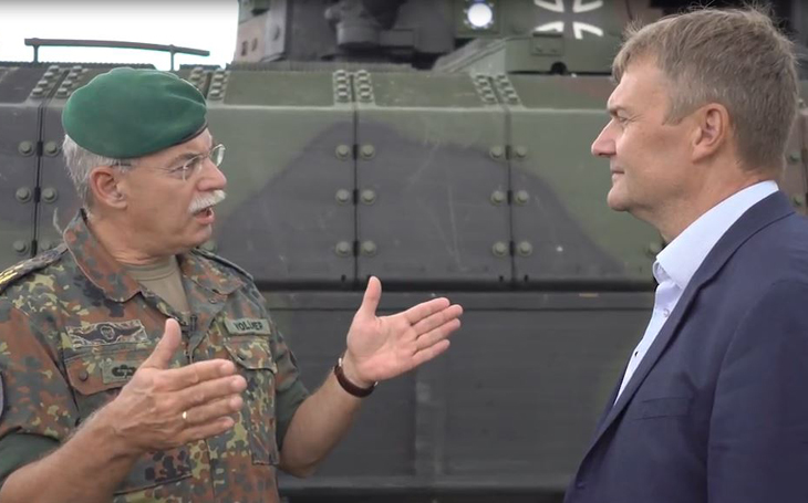 Bojové vozidlo pěchoty PUMA od PSM je podle Bundeswehru nejlépe chráněným BVP na světě