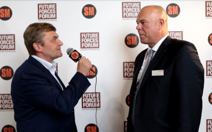 Aleš Výborný – ředitel BAE Systems pro ČR a Pobaltí o obrněném vozidle CV90 (Future Forces Forum)