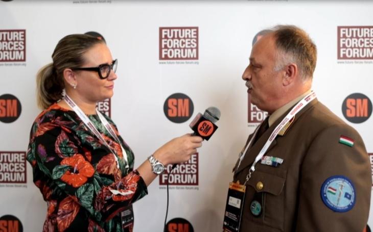 László Fazekas – ředitel Centra excelence pro vojenské zdravotnictví (Future Forces Forum)