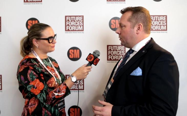 Major Magnus Hallberg – interoperabilita na nejnižší úrovni (Future Forces Forum)