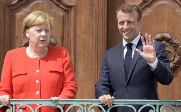 Macron a Merkelová kritizovali volby v Donbasu