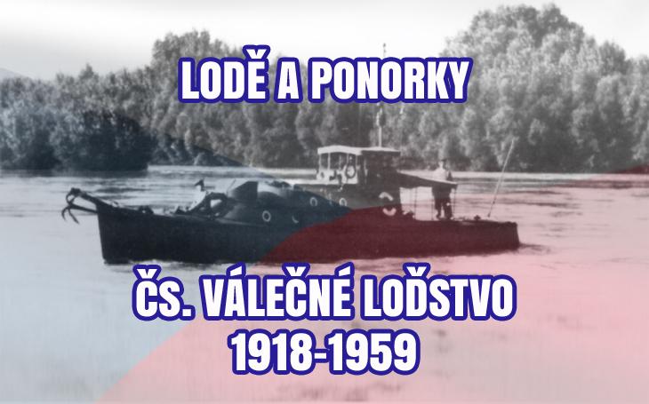 Československá republika – válečné loďstvo (1918-1959)