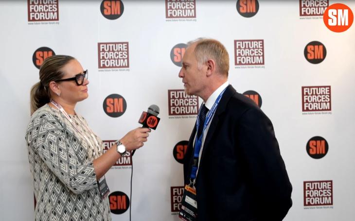 Thomas Strasser – zástupce GDELS o obrněném vozidle ASCOD (Future Forces Forum)