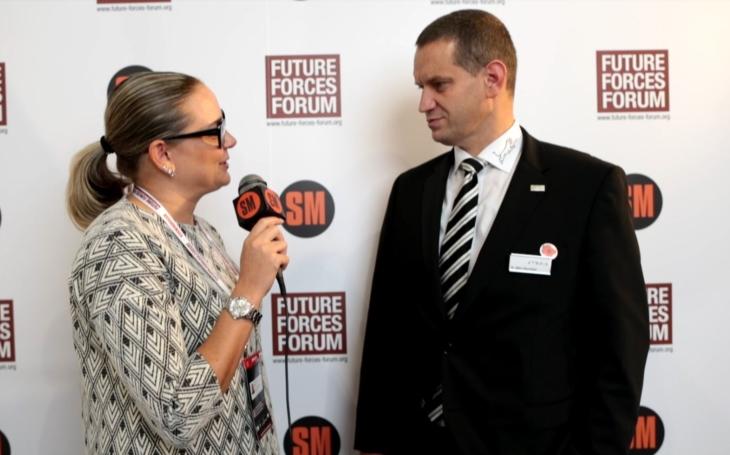 Björn Bernhard – výhody BVP Puma od společnosti PSM (Future Forces Forum)