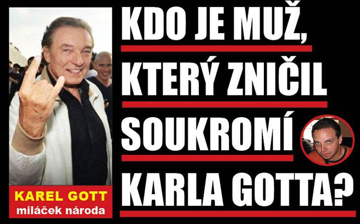 Zakázaná kniha o Karlovi Gottovi: Schyluje se k velké bitvě právníků. Blíží se konec českého bulváru, nebo jen přišel čas naladit si banjo?
