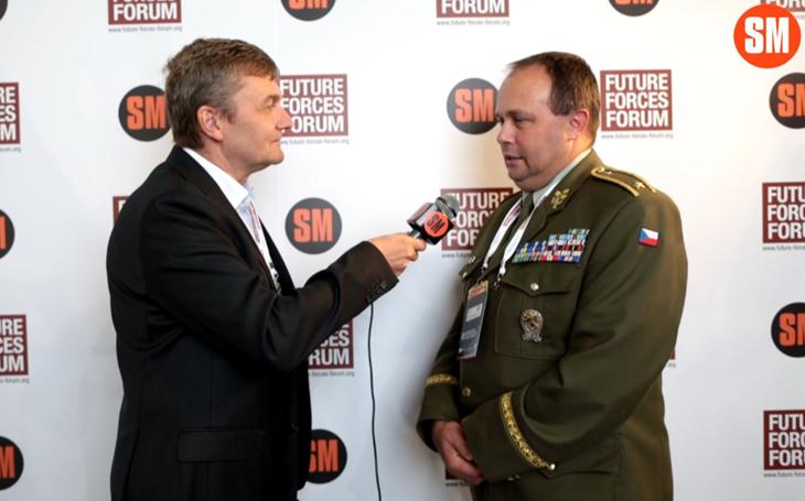 Brigádní generál Zoltán Bubeník – vojákům se dostává maximální péče (Future Forces Forum)