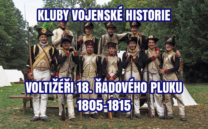 Kluby vojenské historie - voltižérská rota 18. řadového pluku (1805-1815)