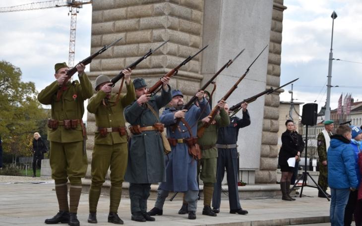 Den veteránů – vzpomínkové akce 11. listopadu (1918-2018)