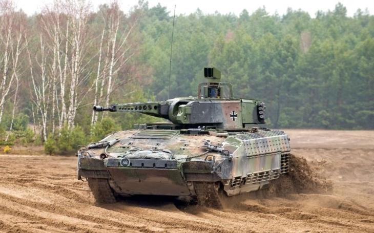 Bojové vozidlo pěchoty PUMA - balistická ochrana osádky je jeho velkou výhodou