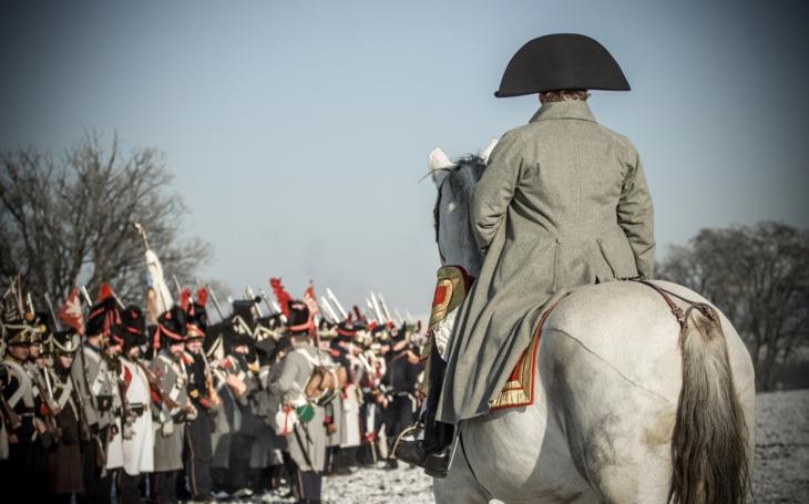 213. výročí bitvy u Slavkova - složení &quote;armád&quote; (Austerlitz 2018)
