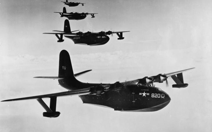 Největší létající člun historie - Martin JRM Mars z roku 1945 létá dodnes