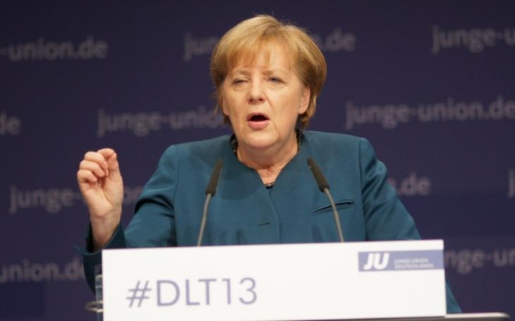 Tolerance je duší Evropy, řekla Merkelová v Evropském parlamentu