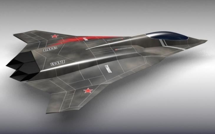 Ruská televize ,,omylem&quote; ukázala utajený model hypersonického letounu 6. generace