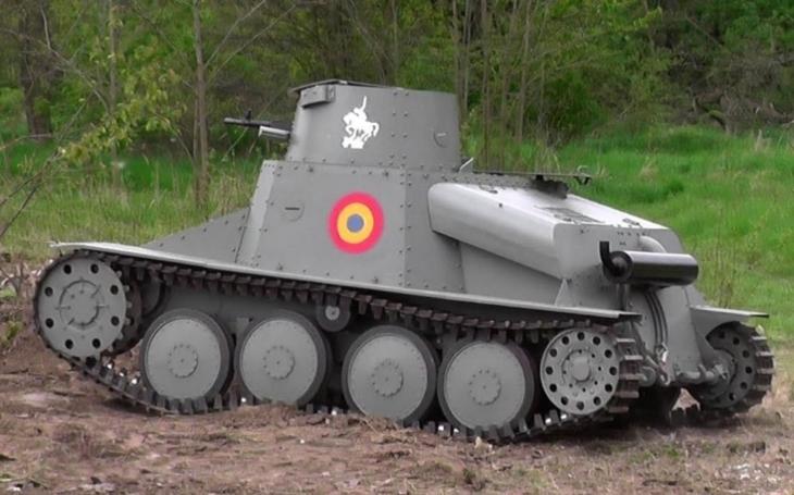 Tančík AH-IV - československé vozidlo, které nadchlo i íránského šáha