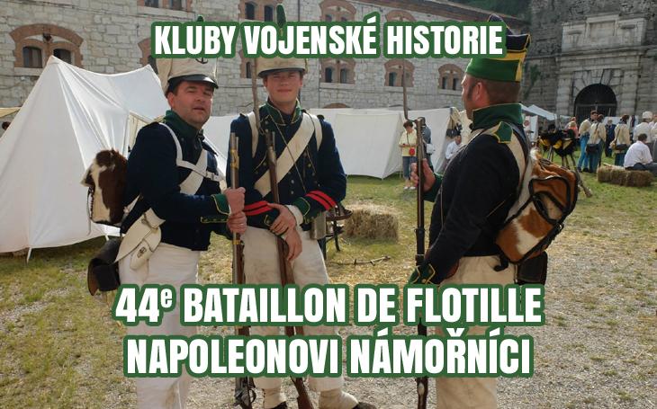 Kluby vojenské historie - 44e Bataillon de flottille (Napoleonovo námořnictvo)