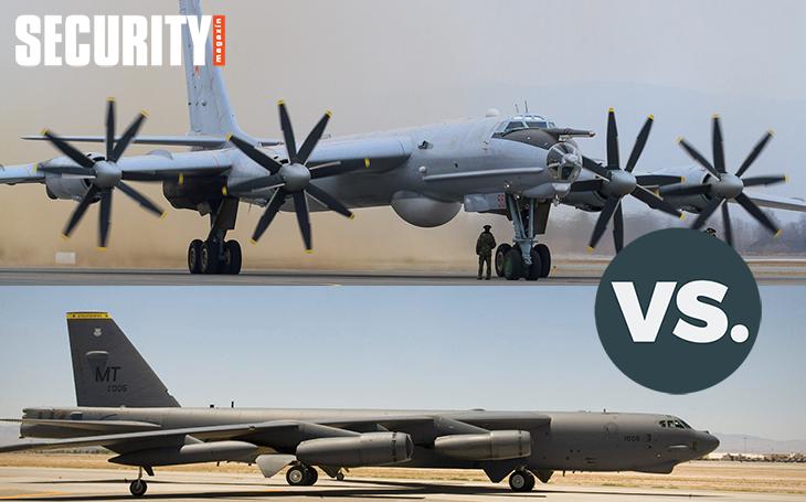 Vzdušné války - B-52 vs. Tu-95. Který z ,,nebeských obrů&quote; předčí toho druhého?