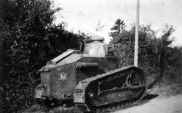 Renault FT-17 - První moderní tank Velké války