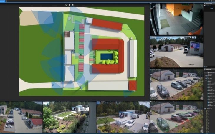 """VIDEO: Axis dodal inteligentní kamery do testovacího areálu Smart City Polygon. Systém s nimi ihned """"vyplašil"""" zloděje"""