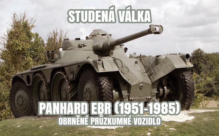 Panhard EBR - Obrněné průzkumné vozidlo (1951-1985)