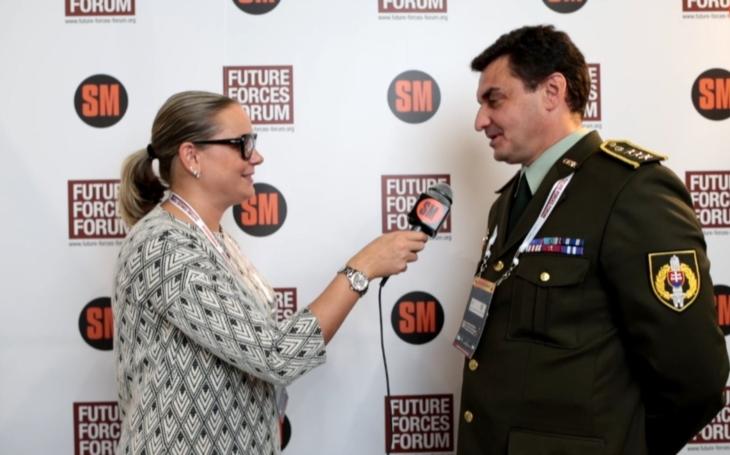Ohlédnutí za Future Forces Forem - Plukovník Császár o odstraňování výbušnin