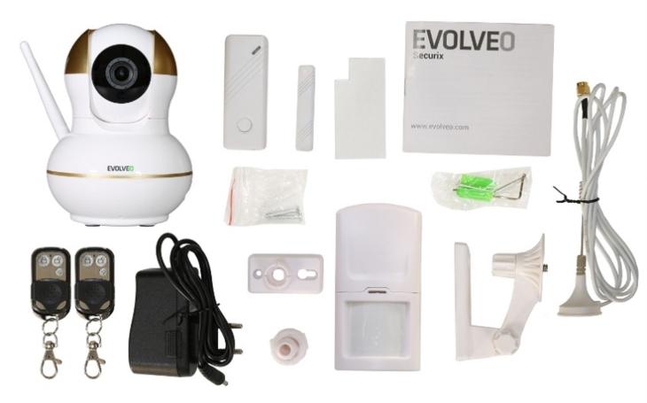 EVOLVEO Securix je chytrá IP kamera, ovládá se telefonem a umí toho mnohem víc