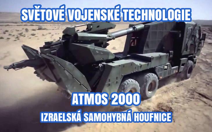 ATMOS 2000 - Izraelská samohybná houfnice na podvozku TATRA
