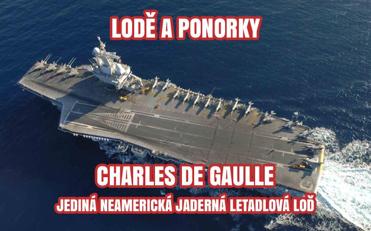 Charles de Gaulle - jaderná letadlová loď francouzské maríny (2001-2040)